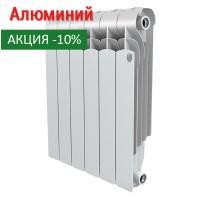 Алюминиевый радиатор Indigo 500 10 секций