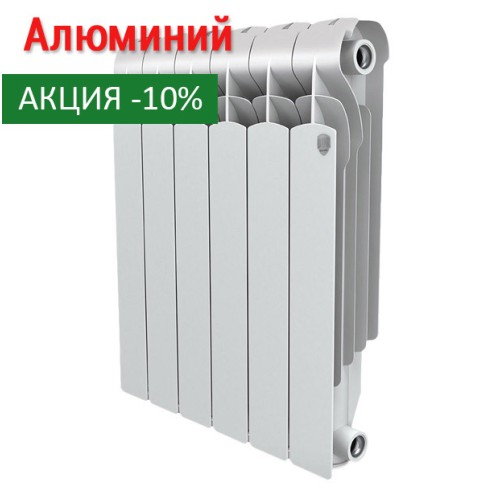 Алюминиевый радиатор Indigo 500 4 секции