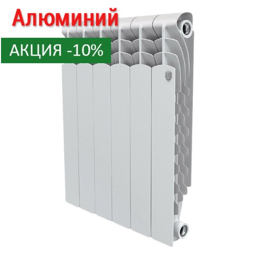 Алюминиевый радиатор Revolution 350 6 секций