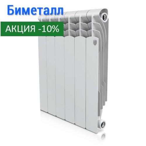 Биметаллический радиатор Revolution Bimetall 500 4 секции